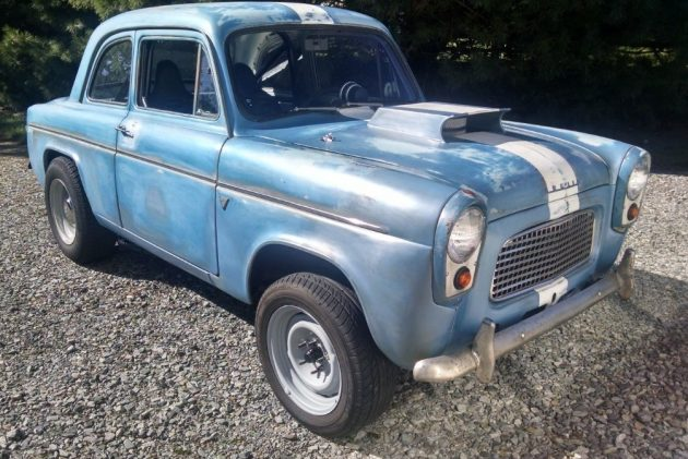 Shoe Horn Special: 1959 Ford Anglia Gasser