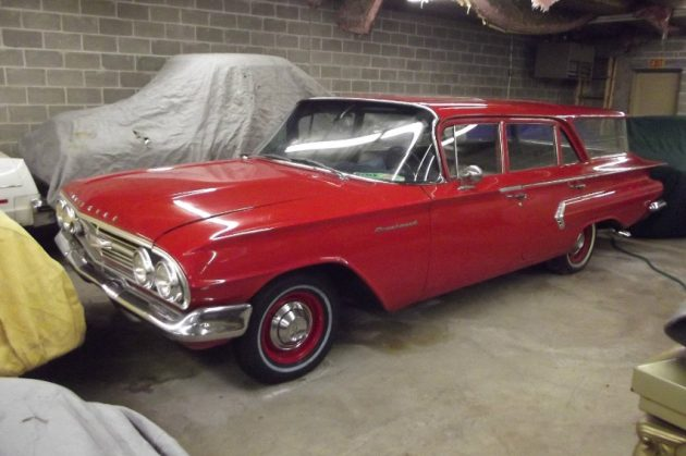 Stored Since 1967: 1960 Chevrolet Brookwood Wagon