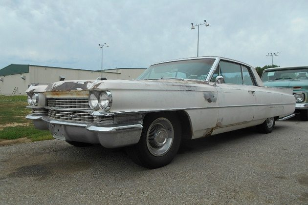 Luxurious Project 1963 Cadillac Coupe Deville