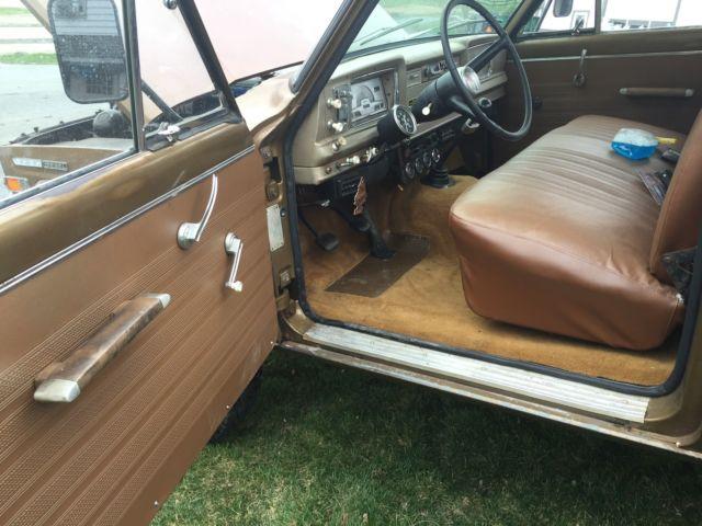 Diesel Powered: 1969 Jeep Gladiator