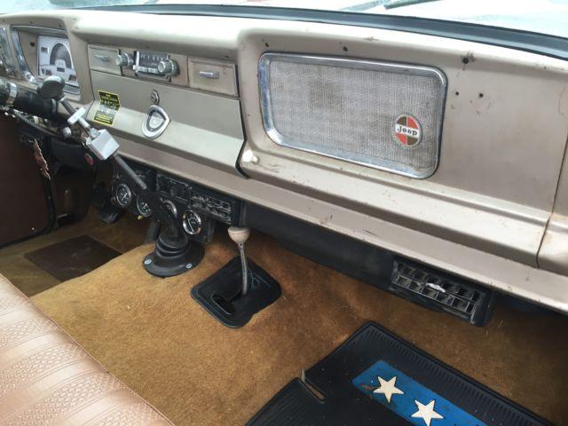 Diesel Powered 1969 Jeep Gladiator