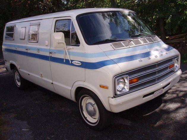 Exploration Of Time: 1974 Dodge Explorer Camper Van
