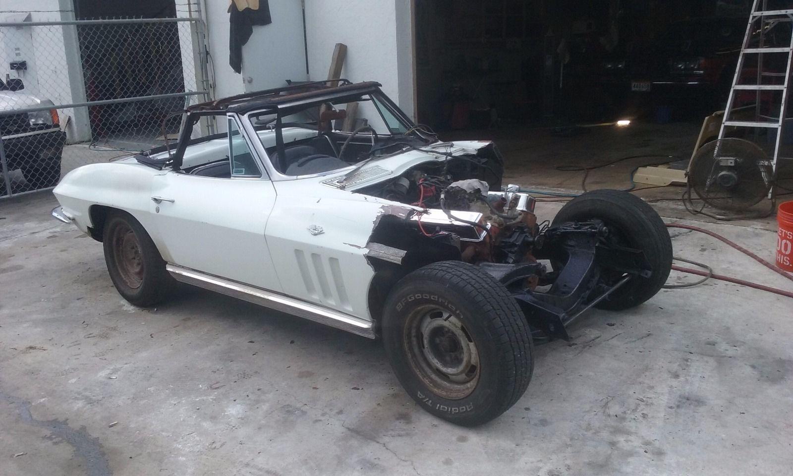 61 Corvette Barn Find Project Car Up For Sale On Ebay – Desenhos