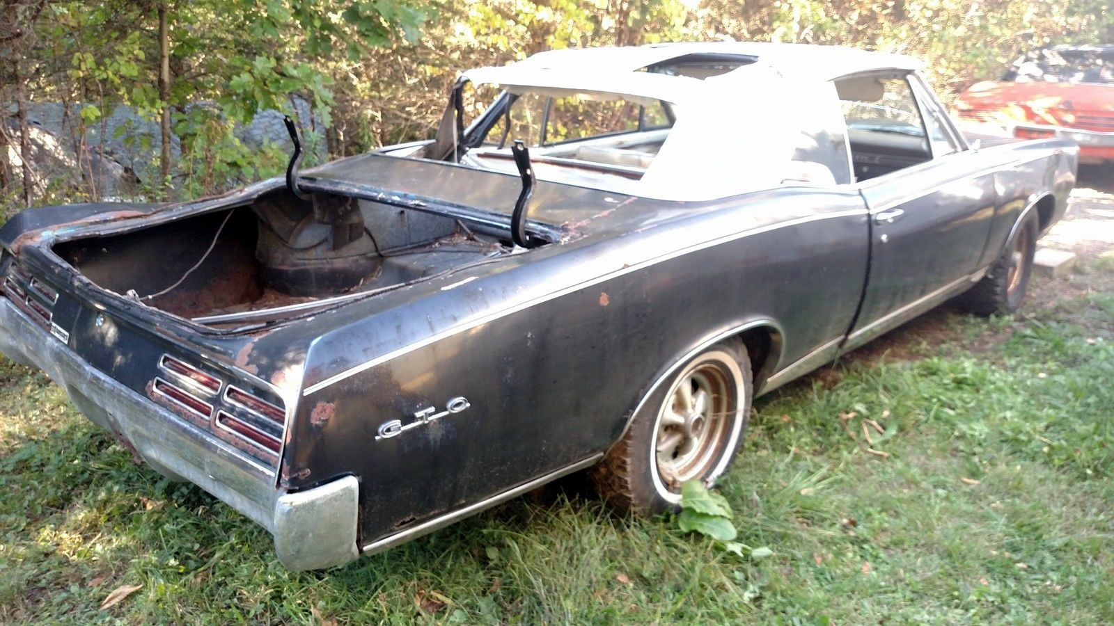 Lame Goat: 1967 Pontiac GTO Convertible
