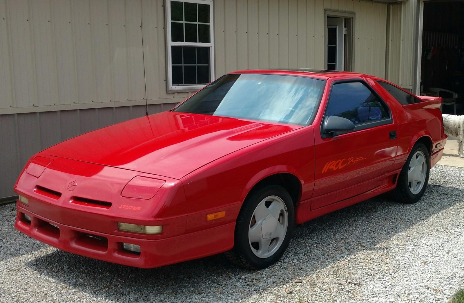 Last Of The Irocs 1991 Dodge Daytona Shelby
