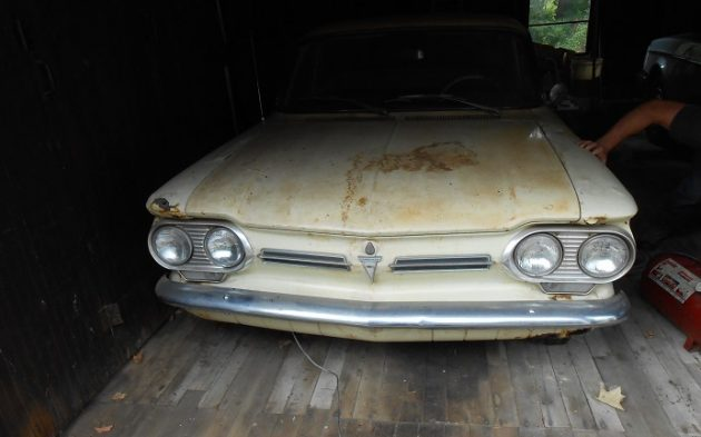 Ralph Nader's Corvair Unearthed!