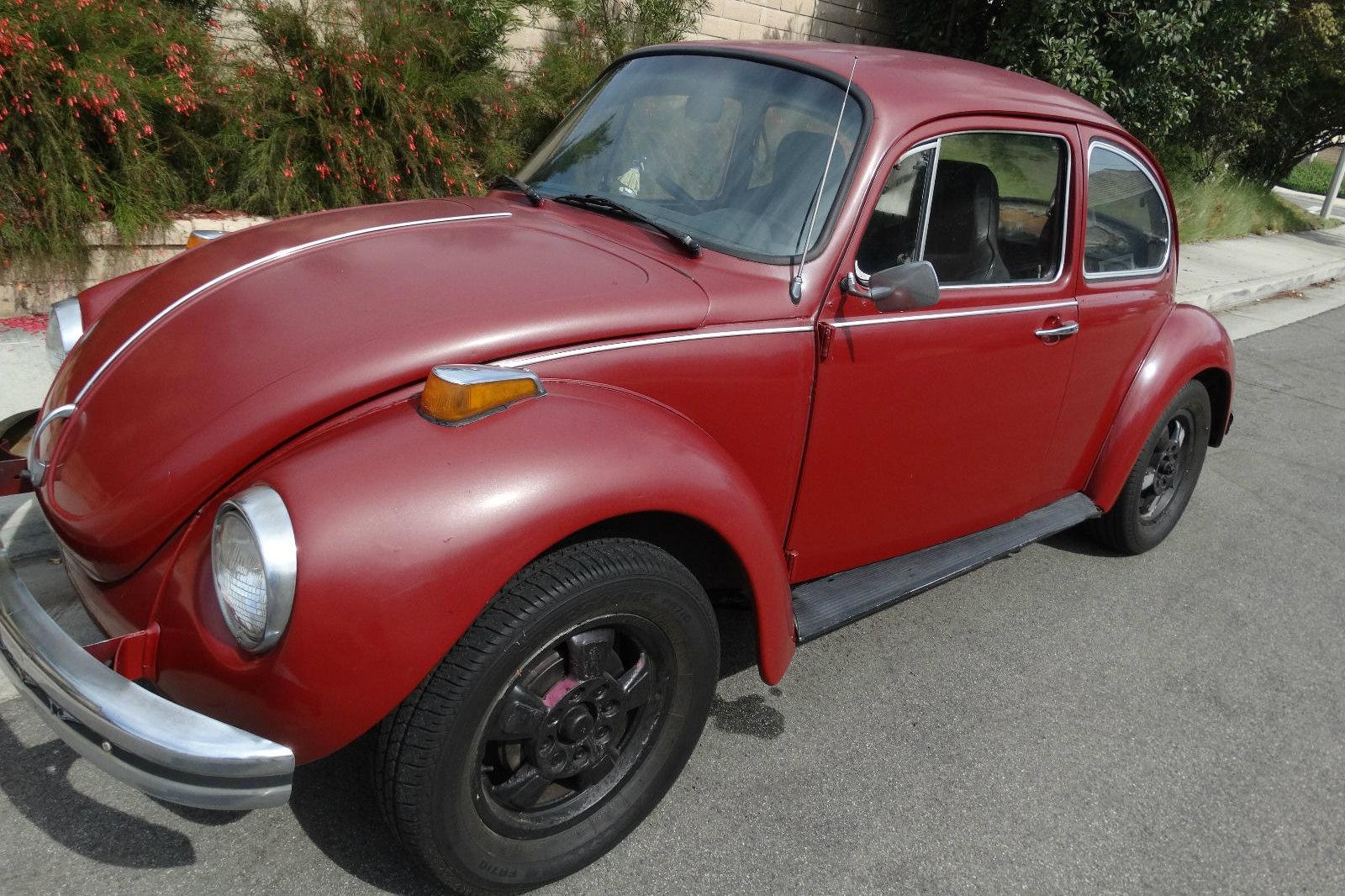 cheap classic 1973 volkswagen beetle. Black Bedroom Furniture Sets. Home Design Ideas