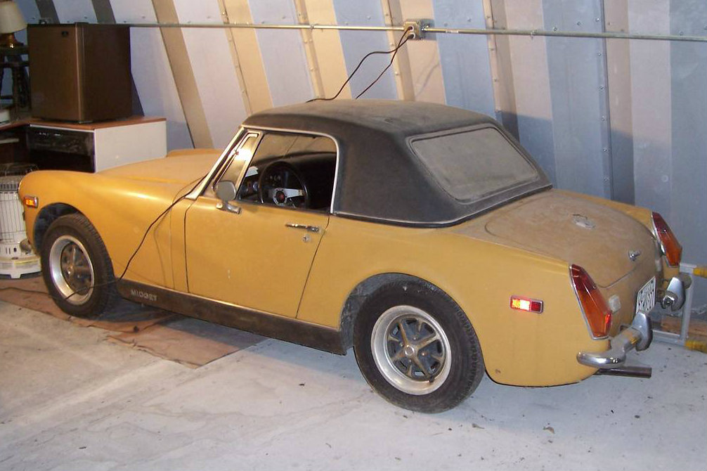 Cheap Classic: 1973 MG Midget Find