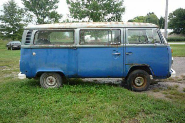 Only $850! 1976 Volkswagen Bus