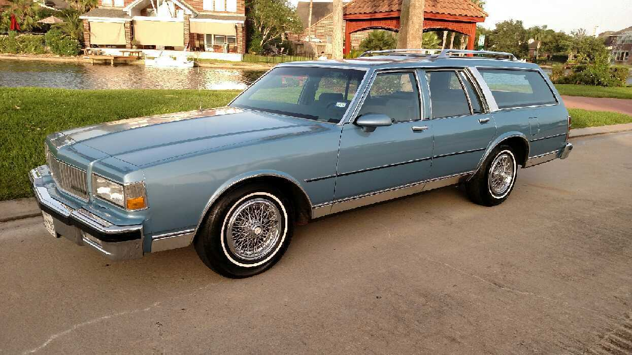 Used Chevy Impala For Sale >> Super Whale! Low Mileage 1988 Caprice Wagon
