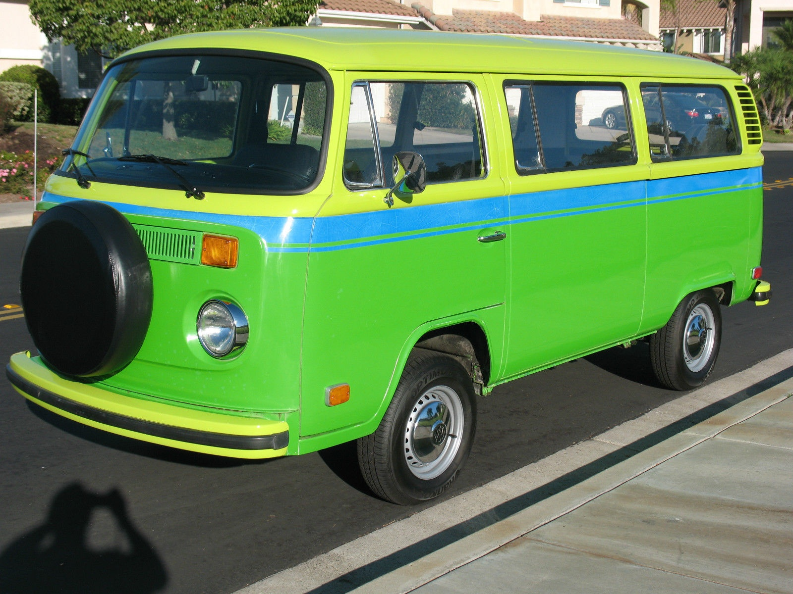 Wild Westerner! 1973 VW Bus