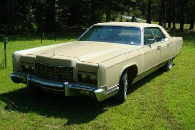 Parked In 1988: 1973 Lincoln Continental Barn Find