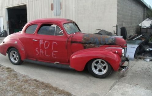 Way Too Hot Rod 1940 Chevy Coupe