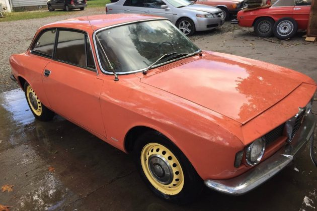 Garage Find: 1965 Alfa Romeo Giulia Sprint GT