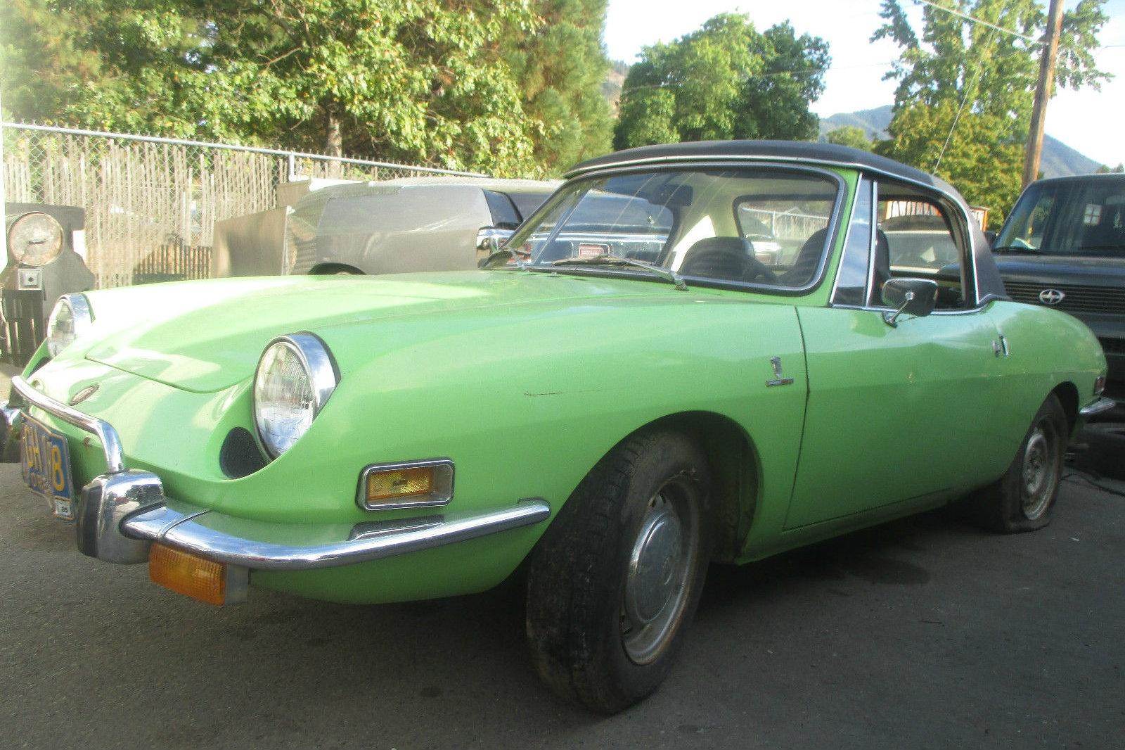 Rust Free Fiat Find  1972 Fiat 850