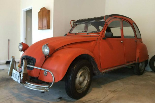 French By Way Of Argentina: Citroen 3CV