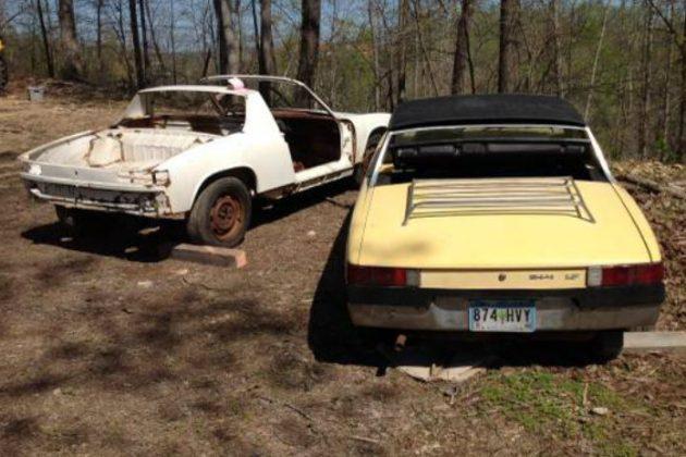A Pair Of Porsche Barn Finds