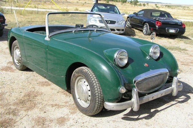 5 Years In The Barn: 1960 Austin Healey Sprite