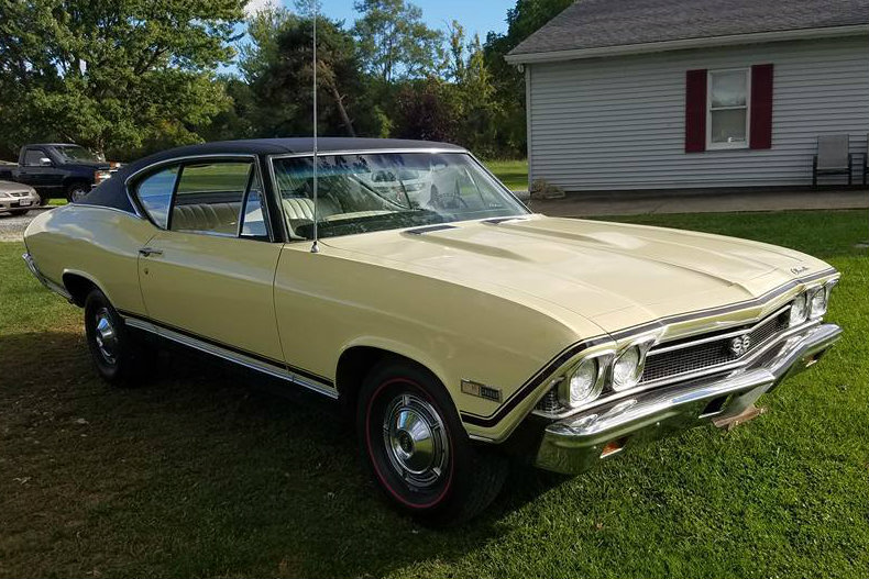 What Does Chevy Stand For >> Big Block Survivor: 1968 Chevelle SS 396