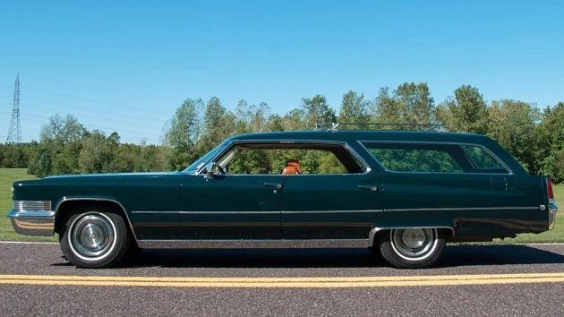 Putting On The Ritz 1969 Cadillac Deville Station Wagon