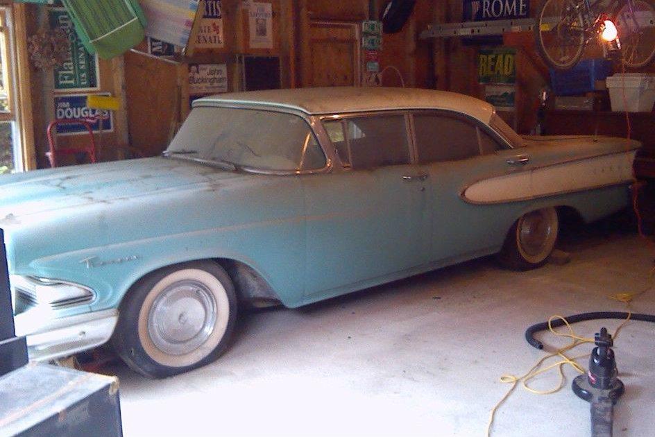 Garage find 1958 edsel ranger for Garage finder