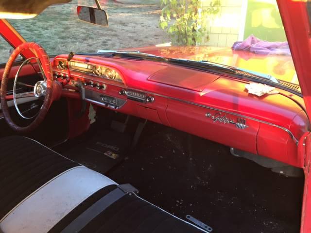 Big Red Sled 1962 Ford Galaxie 500