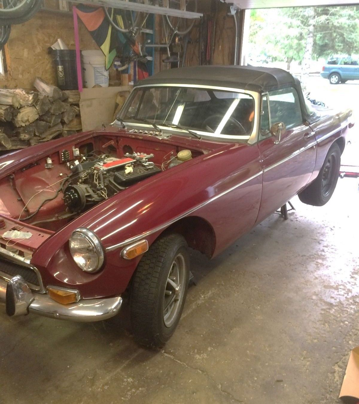 Parts Or Project? 1974 MGB V6