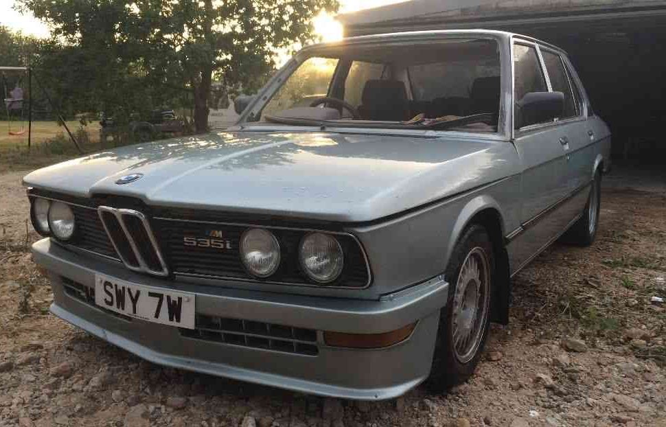 Early M Car: 1980 BMW M535i