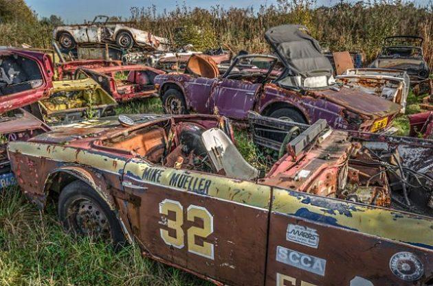 Triumph Tragedy: Abandoned Graveyard