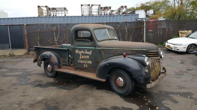 Flipped: 1941 Chevrolet Pickup