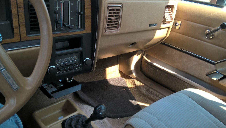 biodiesel equipped 1984 ford tempo survivor rh barnfinds com ford tempo repair manual ford tempo repair manual