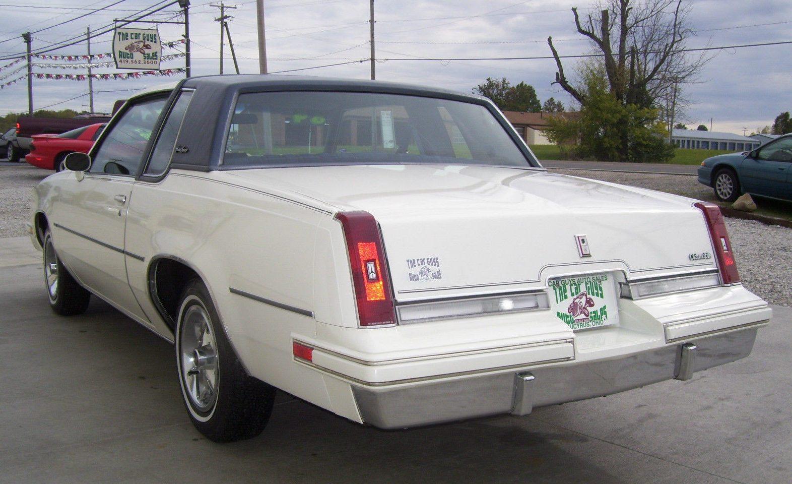 7,124 Miles: 1984 Olds Cutlass