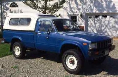 Garage Queen: 1982 Toyota Hilux