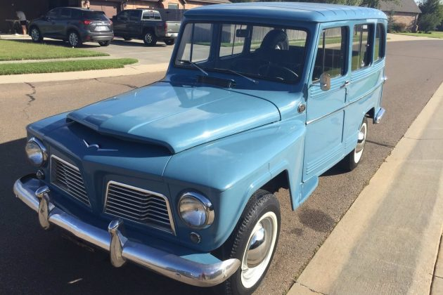 What A Brazilian! 1966 Willys Wagon