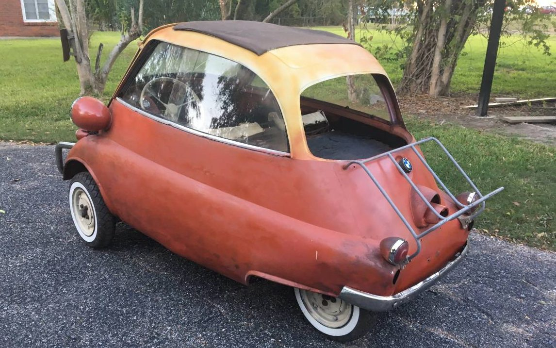 Not So Big in Texas: 1956 BMW Isetta