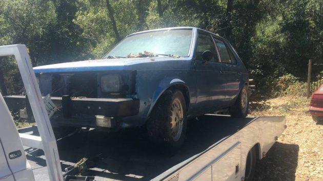 $700 Santa Fe Blue: 1985 Dodge Omni GLH