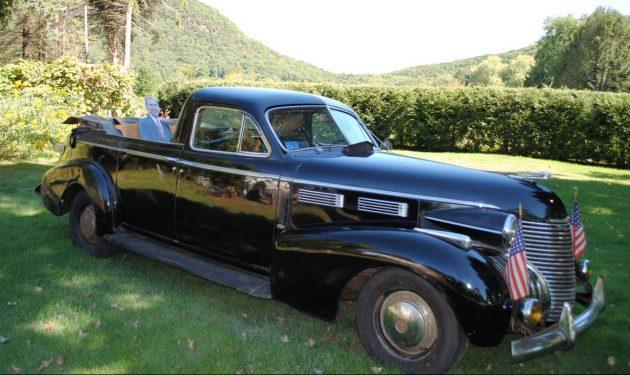 Presidents Or Plants? 1940 Cadillac Parade Car