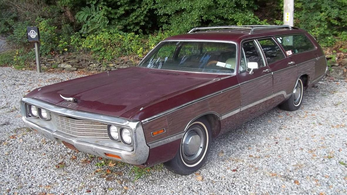 Chrysler Town And Country For Sale >> Big. Old. Wagon. 1970 Chrysler Town & Country