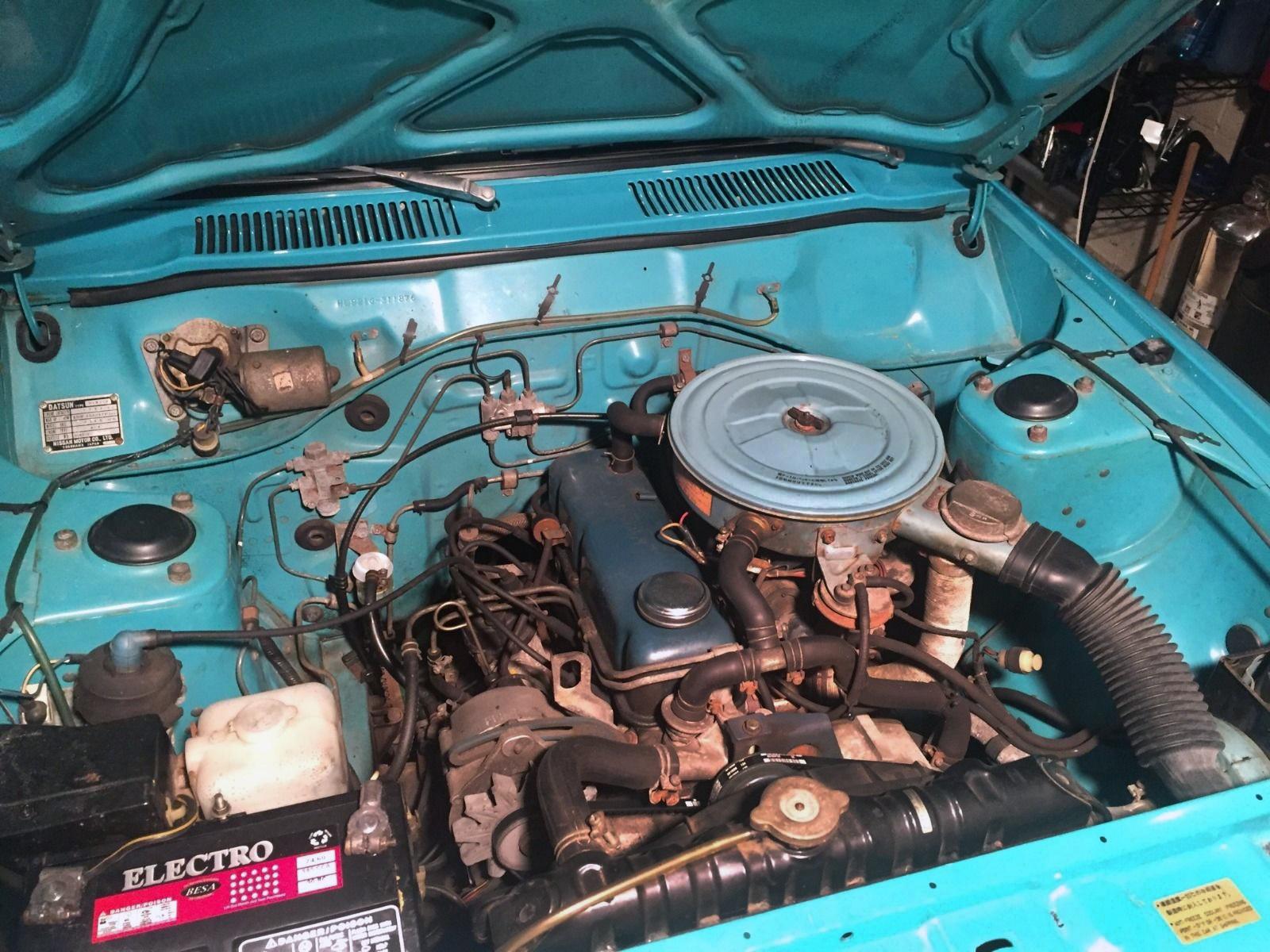 38 000 mile one owner 1977 datsun b210 sedan