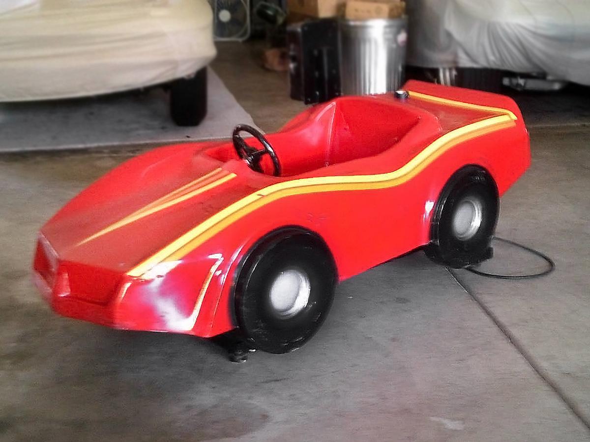 110216 Barn Finds 19 Electric Corvette Kids Ride