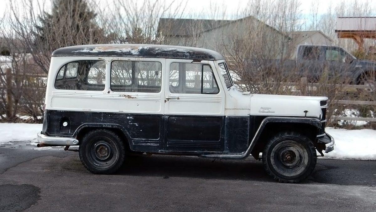 2 500 Working Wagon 1959 Willys Wagon