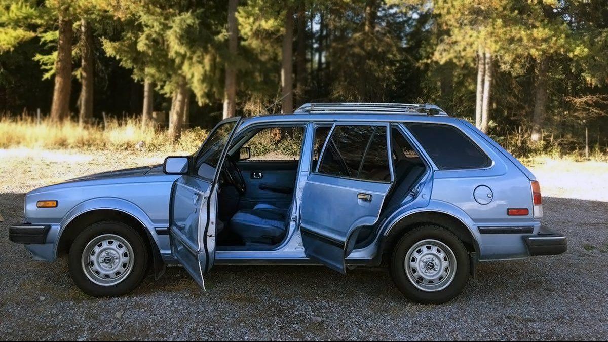 $2,800 Movie Car: 1983 Honda Civic Wagon