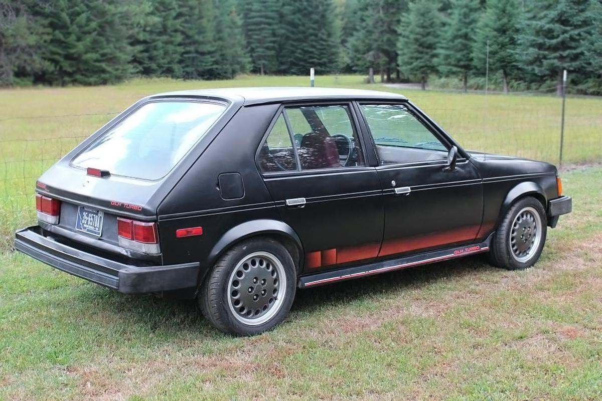 110716 barn finds 1986 dodge omni glh turbo