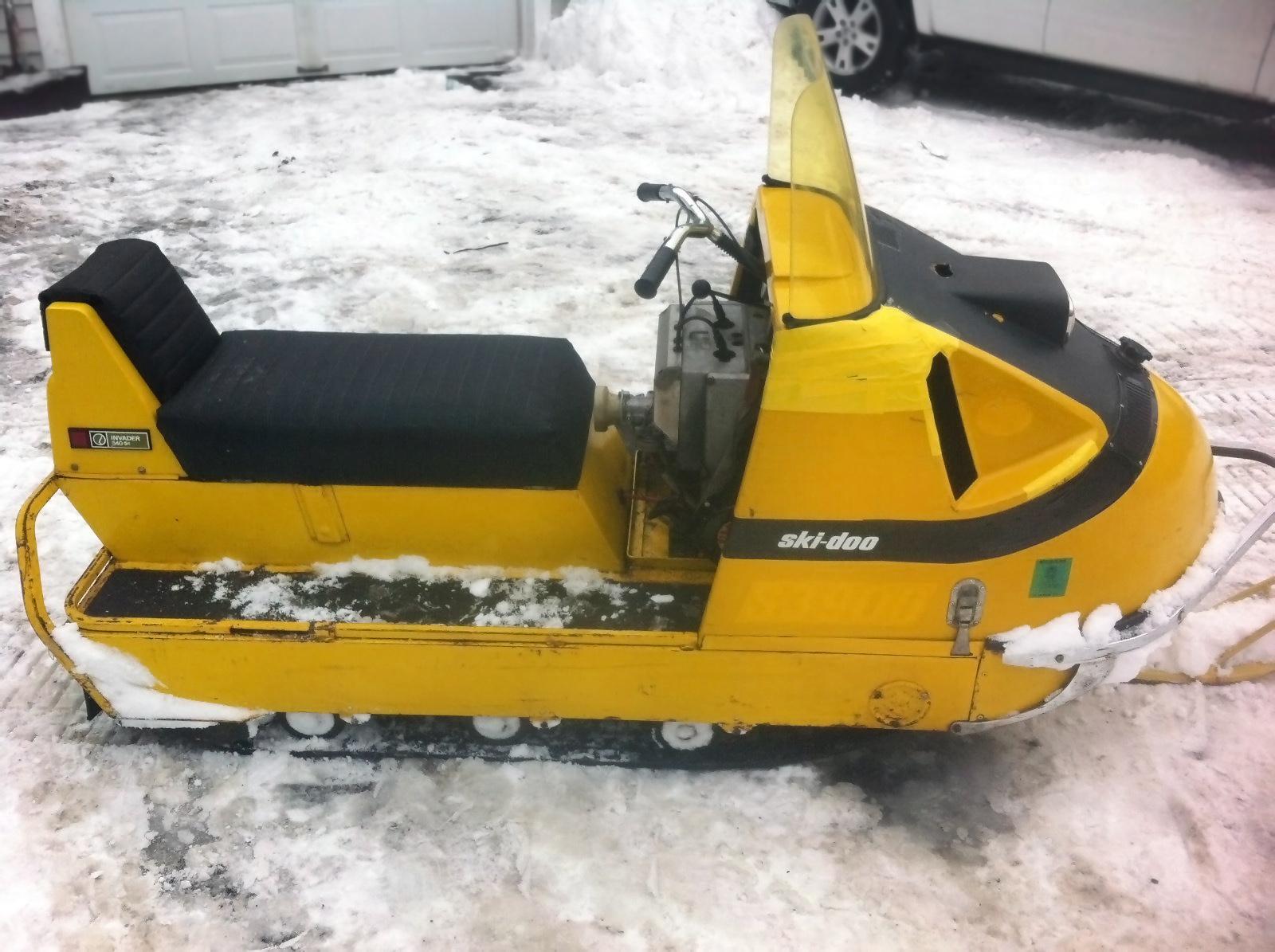 Ski Doo Snowmobiles For Sale >> Work Horse: 1970 Ski-Doo Alpine Invader 640/ER