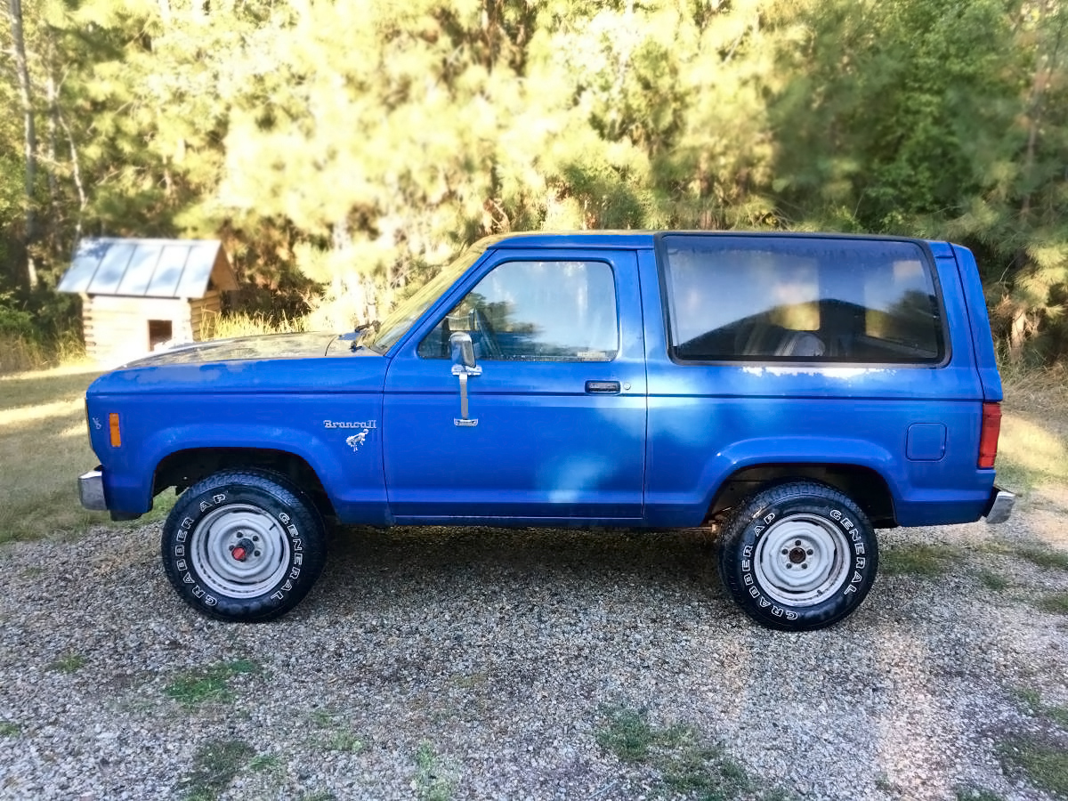 2016 Ford Bronco >> $3,000 5-Speed: 1986 Ford Bronco II