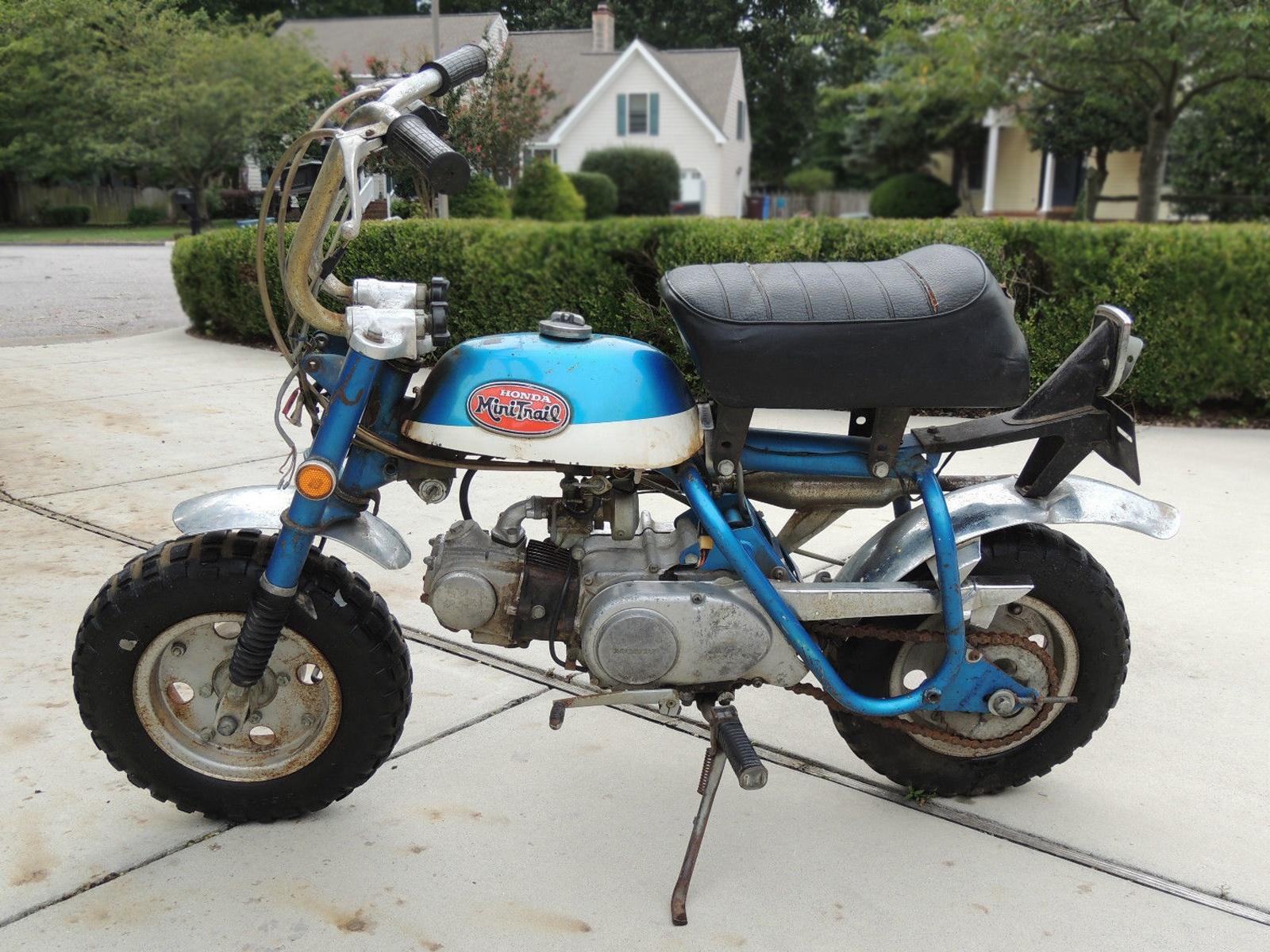 Mini Monkey 1970 Honda Z50a K2 Mini Trail
