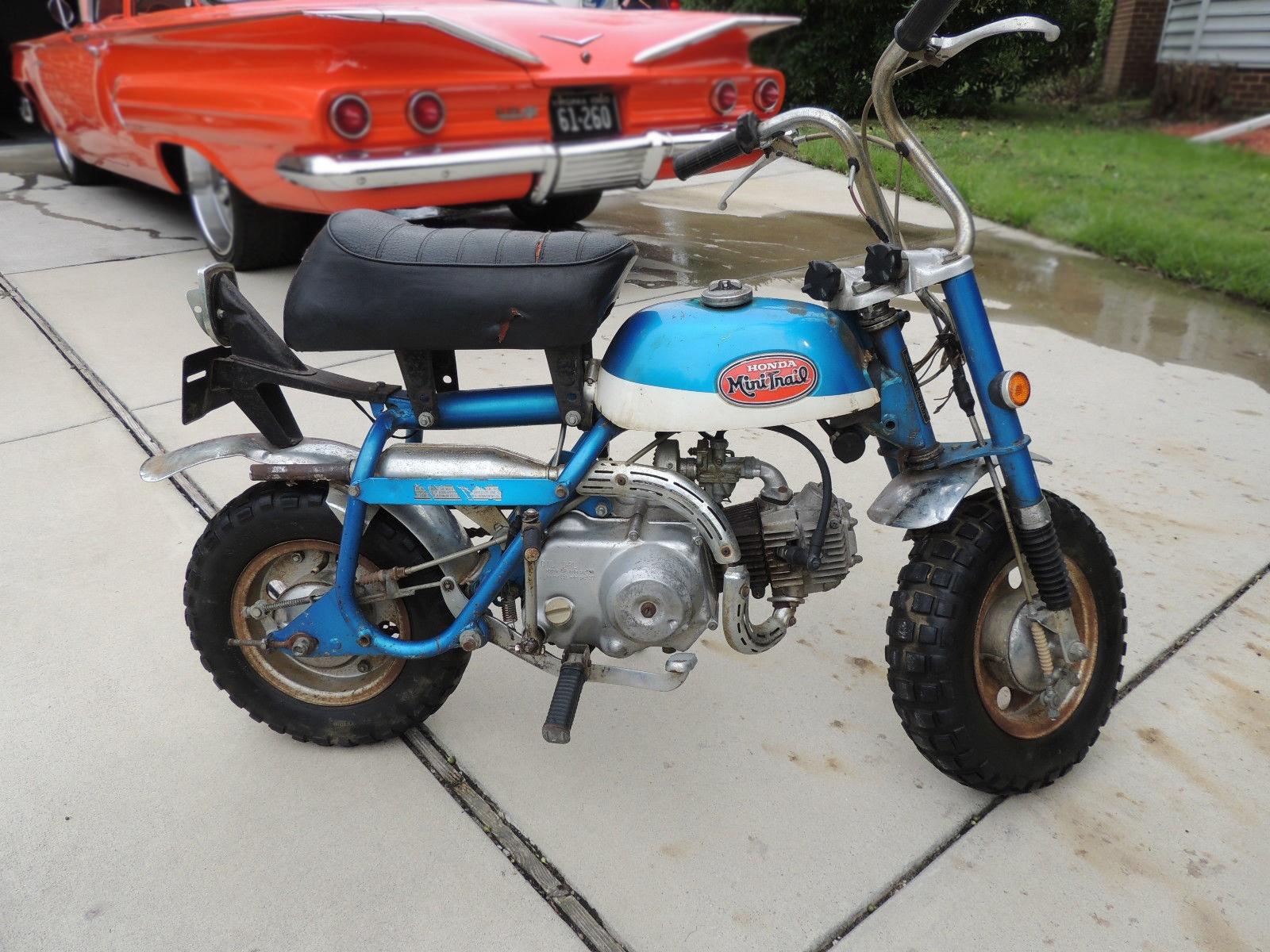 Mini Monkey 1970 Honda Z50a K2 Trail Ct70 Brochures 111016 Barn Finds 2