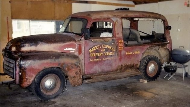 Rare But Really Rusty: 1949 GMC Canopy Express
