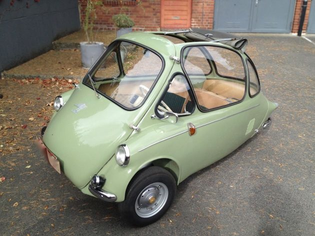 Mind-Blowing Original! 1956 Heinkel Kabine 150
