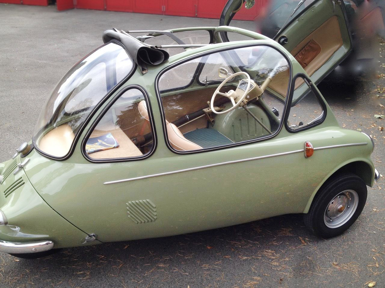 Mind Blowing Original Heinkel Kabine
